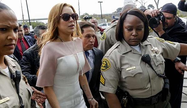 Lindsay Lohan Avoids Police