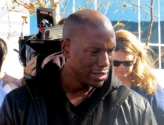 Tyrese Gibson Cry