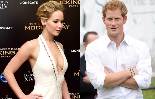 Jennifer Lawrence Refused Date With Britain Prince Harry